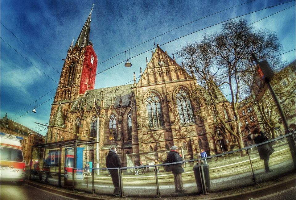 Briefkästen Saarbrücken johanneskirche saarbrücken saarbrücken